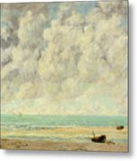 The Calm Sea Metal Print