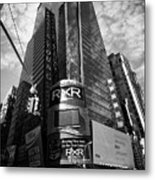 5 Times Square Ernst And Young Tower Headquarters New York City Usa Metal Print