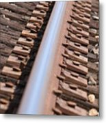 Train Track Metal Print