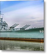Uss Alabama Metal Print