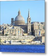 Valletta - Malta Metal Print