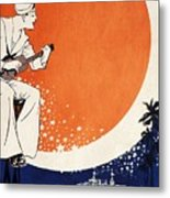 Vintage Hawaiian Art Metal Print