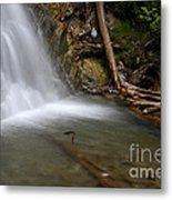 Waterfall, Quebec Metal Print