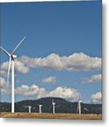 Wind Turbine Farm Metal Print