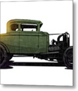 5 Window Hot Rod Metal Print