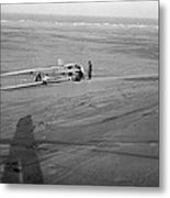 Wright Brothers Glider Metal Print