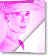 Audrey Hepburn Collection Metal Print