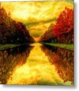 Painters Landscape Metal Print