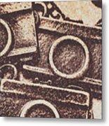 50s Brownie Cameras Metal Print