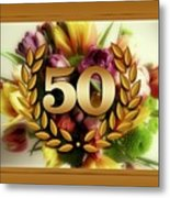 50th Anniversary Metal Print