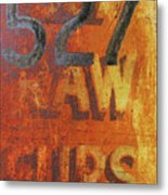 527 Raw Furs Metal Print