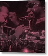 52nd Street Miles And Coltrane Metal Print