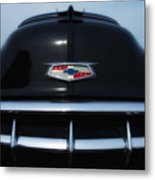 54 Chevy Grill Metal Print