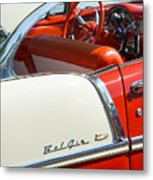 55 Chevrolet Sport Coupe Metal Print