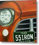 55 Iron Metal Print
