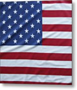 Usa Flag Metal Print