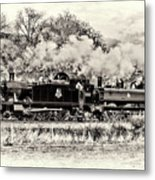 5526 And 6430 Waiting For The Signal Metal Print