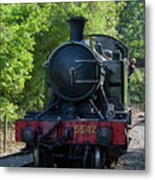 5542 On The The Points Metal Print