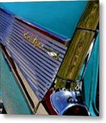 57 Chevy Bel Air Metal Print