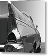 57 Chevy Verticle Metal Print
