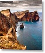 Oil Painting Landscapes Metal Print