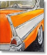 '57 Tangerine Metal Print