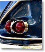 58 Bel Air Tail Light Metal Print