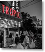 5828- Tropic Theater Metal Print