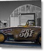 581 Bonneville Race Car Metal Print