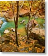 Nature Cool Landscape Metal Print