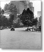 59th Street By Central Park Metal Print