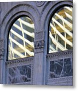 5th Avenue Reflections Metal Print