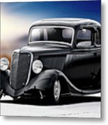 1934 Ford Five-window Coupe Metal Print
