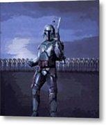 2 Star Wars Art Metal Print