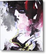 Abstract Figure Art Metal Print