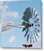 Aermotor Windmill Metal Print