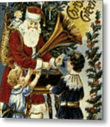 American Christmas Card Metal Print by Granger