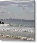 Australia - Coolangatta Beach Metal Print