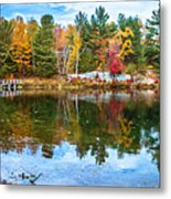 Autumn Season In Killarney Metal Print