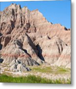 Badlands National Park South Dakota Metal Print