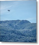 Beautiful Landscapes Around Ketchikan And Tongass Forest In Alas Metal Print