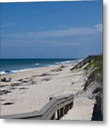 Brevard County Florida Beaches Metal Print