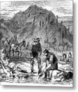 California Gold Rush Metal Print