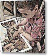 Children Series Metal Print