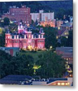 Downtown Morgantown And West Virginia University Metal Print