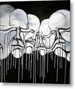 6 Faces Metal Print by Stephen  Barry