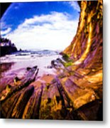 Fisheye Camera Metal Print