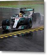 Formula 1 Monza 2017 Metal Print