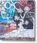 Freak Alley Boise Metal Print