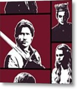 Game Of Thrones. Lannister. Metal Print
